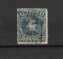Espagne 1901/05 N°222  Yvert&Tellier Oblitéré - Ungebraucht
