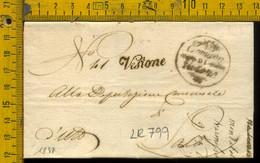 Piego Con Testo Vestone Brescia Per Salò - 1. ...-1850 Vorphilatelie