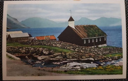 Faroe Kirkjan I Funningi - Faroe Islands