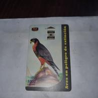 Costa Rica-halcon Pechirrufo-(c4)-(0002679292)-(1000colones)-(tirage-400.000)-used Card+1card Gift Free - Otros