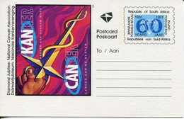 Südafrika South Africa Ganzsachen, Postal Stationery - Ungetempelt/unused - Health Cancer Awareness, Diamond Design - Non Classés
