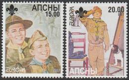 Europa Cept - 2007 - Abkhazia, Abaza *Georgia - (local Issue) ** MNH - 2007