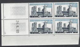 CD 1235  FRANCE 1960 COIN DATE 1235  : 24 6 60  SERIE TOURISTIQUE CATHEDRALE DE LAON - 1960-1969