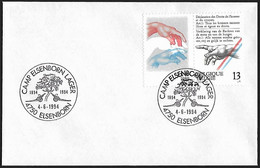1994 - BELGIË/BELGIQUE/BELGIEN - Cover + Y&T 2327 [Michelangelo Buonarotti] + ELSENBORN - Lettres & Documents
