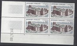 CD 1236  FRANCE 1960 COIN DATE 1236  : 20 9 60  SERIE TOURISTIQUE CHATEAU DE FOUGERE - 1960-1969