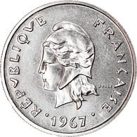 Monnaie, Nouvelle-Calédonie, 10 Francs, 1967, Paris, SPL+, Nickel, KM:5 - New Caledonia