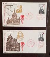 FRANCE Croix Rouge, Red Cross, YVERT N° 1433/34 ,  FDC, 1er Jour , Dricourt 1964 - 1950-1959