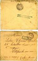 """VAUCLUSE ENV A914 ST PIERRE DE VASSOLS => EN GUERRE """"LE DESTINATAIRE N'A PU ETRE ATTEINT EN TEMPS UTILE"""" + RETOUR 1849 = - 1877-1920: Periodo Semi Moderno"""