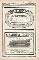 LAMINA 12758: Publicidad De Sizaire Y Naudin - Unclassified