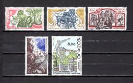 Mónaco    1986    Y&T Nº     1545/1546-1547/1549 - Used Stamps
