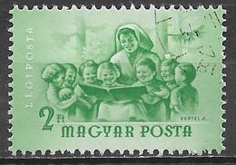 Hungary 1954. Scott #C148 (U) Nurse And Children - Gebraucht
