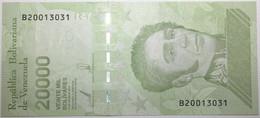 Venezuela - 20000 Bolivares - 2019 - PICK 110b - NEUF - Venezuela