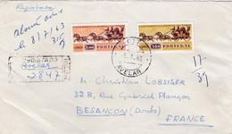 PORTUGAL : Conférence Postale Sur Recommandé Provisoire De Avelar Pour La France - Briefe U. Dokumente