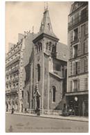 CPA 75 - PARIS - 464. Eglise Saint-François De Sales - C.L.C. - Dos Simple - Iglesias