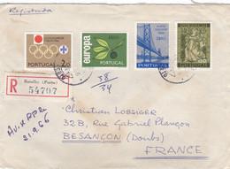 PORTUGAL : Europa Et JO Tokyo Sur Recommandé De Porto Pour La France - Briefe U. Dokumente