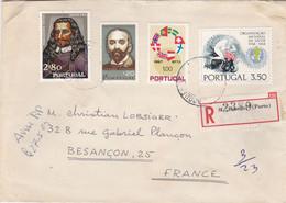 PORTUGAL :  Divers Sur Recommandé De Porto Pour La France - Briefe U. Dokumente
