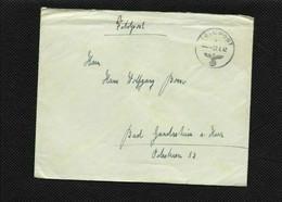 V97)  Busta Reich Germania 1942 Timbro FELDPOST Soldato SS WW2 Viaggiata Per Bad Gandersheim Am Harz  Posta Militare - Covers & Documents