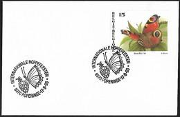 1993 - BELGIË/BELGIQUE/BELGIEN - Cover + Y&T 2505 [Inachis Io] + POPERINGE - Lettres & Documents
