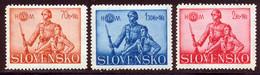 Slovaquie 1942 Yvert 64 / 66 ** TB - Unused Stamps