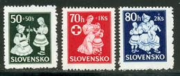 Slovaquie 1943 Yvert 83 / 85 ** TB - Nuevos