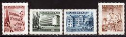 Slovaquie 1943 Yvert 94 / 97 ** TB Bord De Feuille - Nuevos