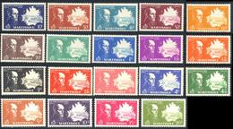 Martinique 1945 Yvert 199 / 217 ** TB Bord De Feuille - Unused Stamps
