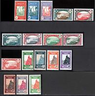 Niger 1926 Yvert 32/33-34A-35-36-38A-39-41-44-44A-46A-47/52 ** TB - Neufs