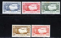 Niger PA 1940 Yvert 1 / 5 ** B - Neufs
