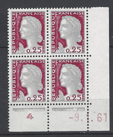 CD 1263  FRANCE 1961 COIN DATE 1263  : 9 1 61   TYPE MARIANNE DE DECARIS - 1960-1969