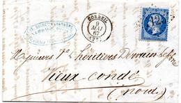 Seine-et-Oise - LAC Affr N° 22 Obl GC 1125 C 15 Corbeil - 1849-1876: Période Classique
