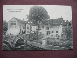 CPA  21 AISEY SUR SEINE Pont Sur La Seine RARE PLAN ELOIGNé ? Canton CHATILLON SUR SEINE - Other Municipalities