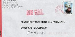 USA ETATS UNIS SEUL SUR LETTRE POUR LA FRANCE 1997 - Cartas
