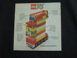 Catalogue LEGO 1973 - LEGO 73  **** EN ACHAT IMMEDIAT **** - Kataloge
