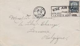 CANADA  LETTRE DE MONTREAL POUR LA FRANCE 1930 - Cartas