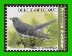 BUZIN - Coucou Gris / Koekoek - 1985-.. Pájaros (Buzin)