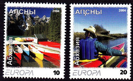 Europa Cept - 2004 - Abkhazia, Abaza (Georgia) - Local Issue ** MNH - 2004