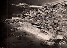 CPSM - ST MALO - Vue Aérienne De La Ville Plage De Bonsecours … (Ruines Après Guerre) - Edition Greff - Saint Malo