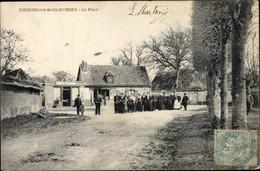 CPA Tournedos Bois Hubert Eure, La Place - Autres Communes