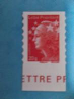 AUTOADHESIF : No: 590 , MARIANNE De BEAUJARD 20g , Venant De Feuille XX , En Bon état - Autoadesivi
