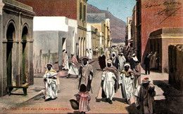 Algérie - ORAN - Une Rue Du Village Nègre - Oran