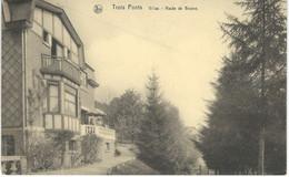 TROIS-PONTS : Villas - Route De Brume - RARE VARIANTE - Cachet De La Poste 1936 - Trois-Ponts