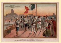 Chomo Aiguebelle. Série Faits Historiques. Campagne Du Soudan 1894. Le Lieutenant-colonel Bonnier Entre à Tombouctou. - Aiguebelle
