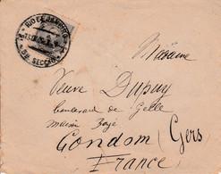 BRESIL SEUL SUR CARTE POUR LA FRANCE 1909 - Cartas
