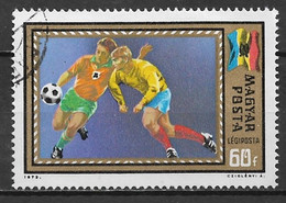 Hungary 1972. Scott #C317 (U) European Soccer Championshiphs - Gebraucht