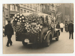 Photographie Corbillard Hearse Lijkwagen Cercueil Coffin Casket Kist Vintage Photo Véritable #166 - Personas Anónimos