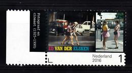 Nederland 2016 Nvph Nr 3416, Mi Nr 3473,  Ed Van Der Elsken, Volkswagen Zwart, VW,  Met Tab - Nuovi