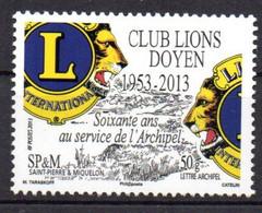 SPM Saint Pierre & Miquelon 2013 N° 1088 Neuf XX MNH Cote : 1,50€ - Neufs