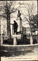 CPA Roville Devant Bayon Lorraine Lothringen Meurthe Et Moselle, Denkmal Mathieu De Dombasle - Other Municipalities