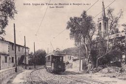 Menton Ligne Du Tram De Menton A Sospel Les Monti - Menton