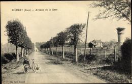 CPA Lieurey Eure, Avenue De La Gare - Other Municipalities